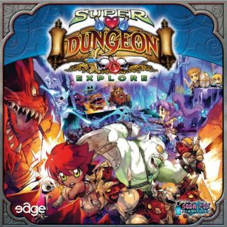 Portada Super Dungeon Explore