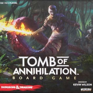 Portada Dungeons & Dragons: Tomb of Annihilation Board Game